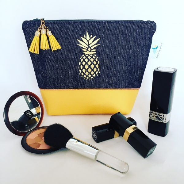 Trousse à maquillage Ananas